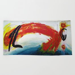 Single Whip Beach Towel