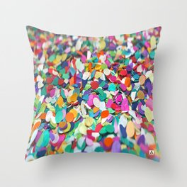 CONFETTI PARTY Throw Pillow