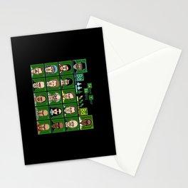 8 Bit Bad Guys Stationery Cards