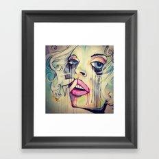 Soul Storm Framed Art Print
