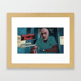 Mike Ehrmantraut Framed Art Print