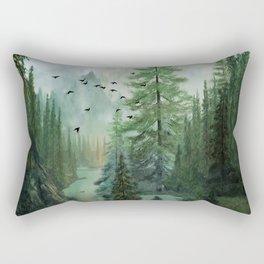 Mountain Morning 2 Rectangular Pillow