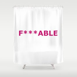 F***able Shower Curtain