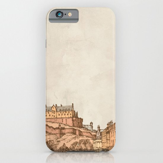 Tea in Edinburgh iPhone & iPod Case