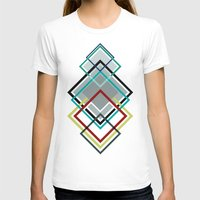 diamonds T-shirts featuring Diamonds by AJJ ▲ Angela Jane Johnston