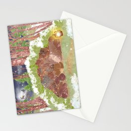 Miharu Shirahata | In the evening of falling snow Stationery Cards