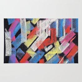 Multicolor construct Rug