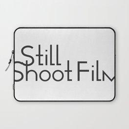 I Still Shoot Film - 1line Laptop Sleeve