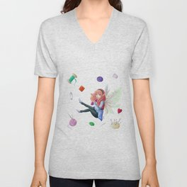 Sewing's fairy Unisex V-Neck