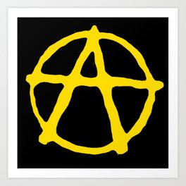 Anarcho-Capitalism Art Print