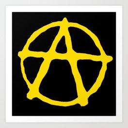 Anarcho-Capitalism Art Print