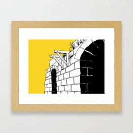 TUNNELS Framed Art Print