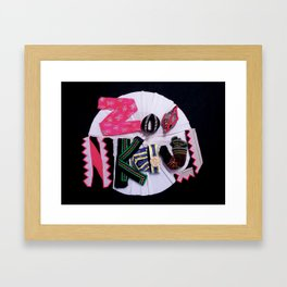 Zoo Nkauj Framed Art Print