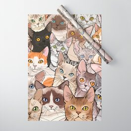 A lot of Cats Wrapping Paper
