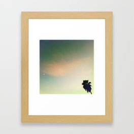 Sunset Palm II Framed Art Print