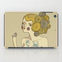 bride iPad Cases featuring Sea Bride by Lilla Bölecz