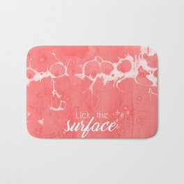 Lick The Surface Bath Mat