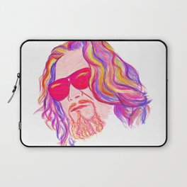 Psychedelic Lebowski Laptop Sleeve