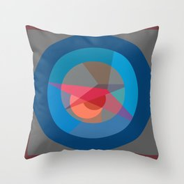 Roundel Throw Pillow