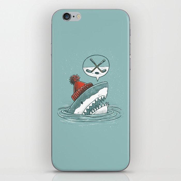Hockey Shark iPhone Skin