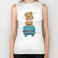 good morning Biker Tanks featuring Good Morning by mrbiscuit