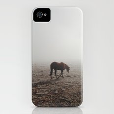 Fogged Horse Slim Case iPhone (4, 4s)