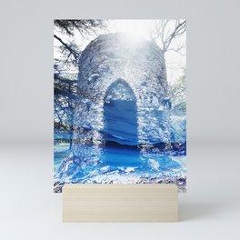 Blue Castle Mini Art Print