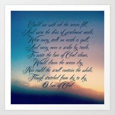 Love of God Art Print
