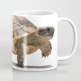 Marching Baby Tortoise Cartoon Vector Isolated Coffee Mug