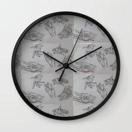 10000 Hands Wall Clock
