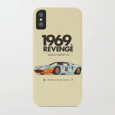 1969 iPhone X Slim Case
