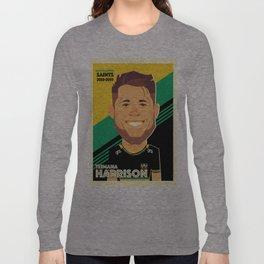 Teimana Harrison - Northampton Saints Long Sleeve T-shirt