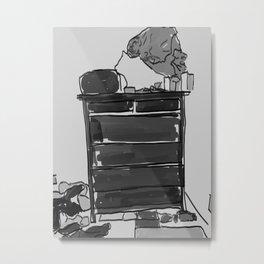 The Dresser Metal Print