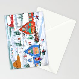 Wintertime in Sugarcreek Stationery Cards