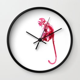 Monkeying Around! Ink Monkey Wall Clock