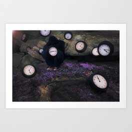Lost In Time Art Print