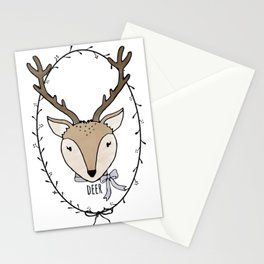 Delightful Deer Stationery Cards