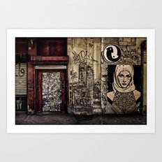West Village Wall Art Print