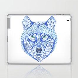ice wolf Laptop & iPad Skin