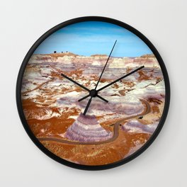 Painted Desert 1 Wall Clock