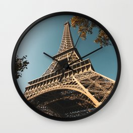 Under the Eiffel Tower Wall Clock