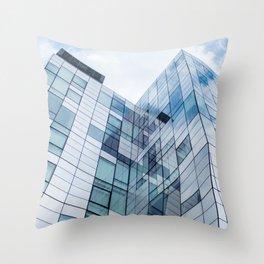 New York Building Throw Pillow
