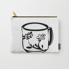 Flower teacup Carry-All Pouch