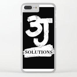 3J Solutions llc Clear iPhone Case