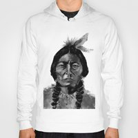 native Hoodies featuring Native by Paul Claisse