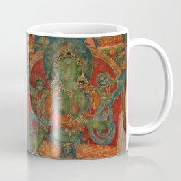 The White Tara and The Green Tara Coffee Mug