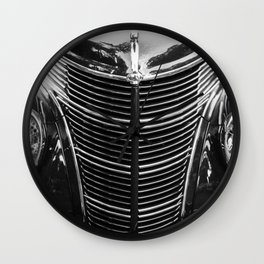 Old Ford Hot Rod Wall Clock