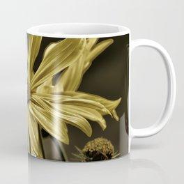 golden colored echinacea Coffee Mug