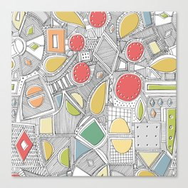 RAZZ ZIP Canvas Print