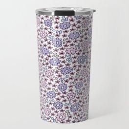Ditsy Flora Lilac Travel Mug